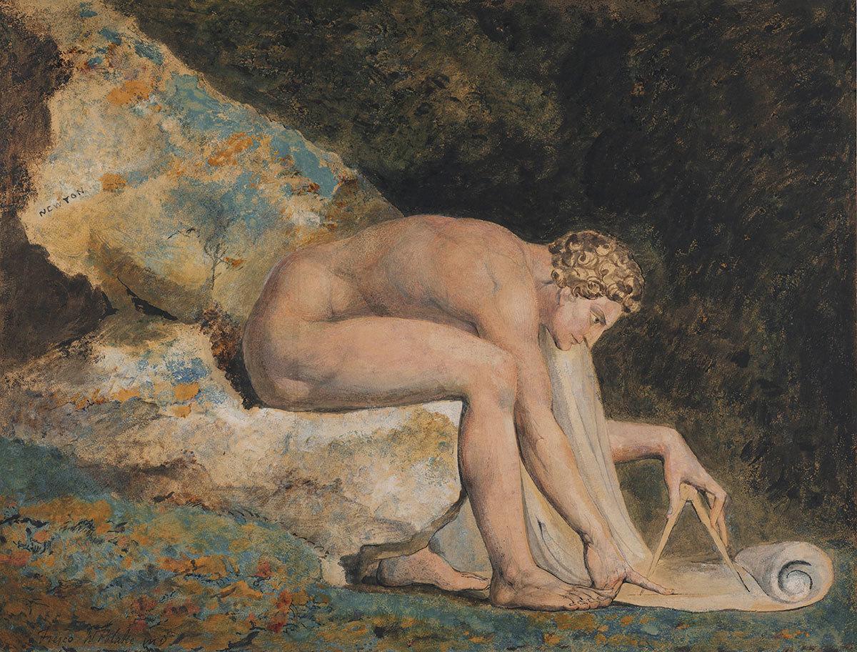 William Blake,Newton, 1795.